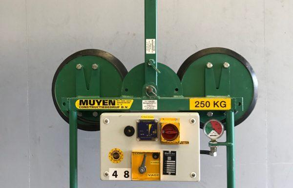 250 kg – 2-punts glaszuiger