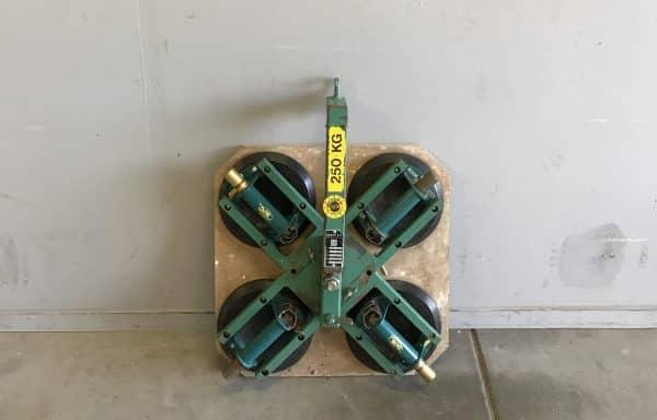 250 kg – Handpomp glaszuiger