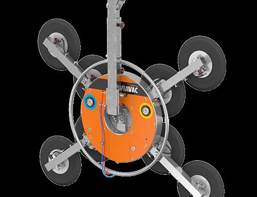 800 kg – GBX2-800 glaszuiger radiografisch