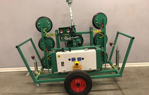 500 kg – 6-punts glaszuiger radiografisch